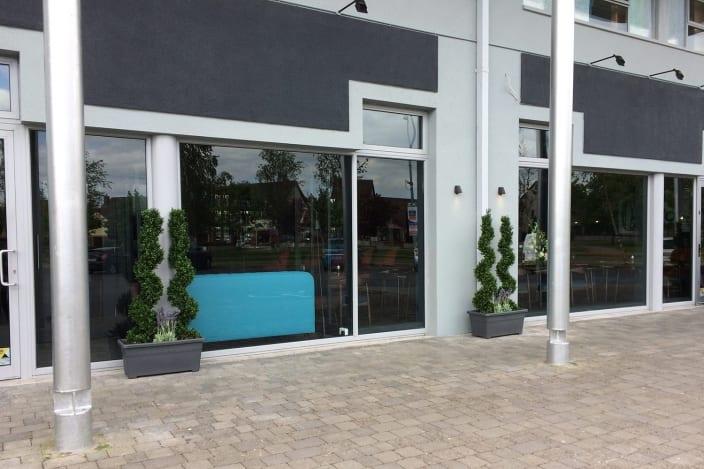 artificial office plants