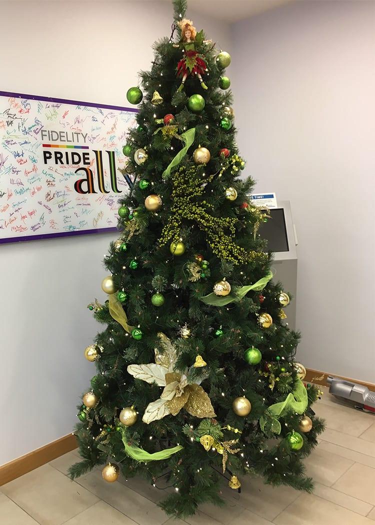 Christmas Tree Hire Plant Design